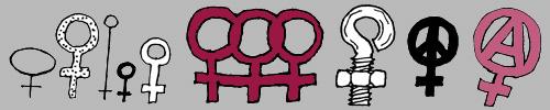 vrouwentekens