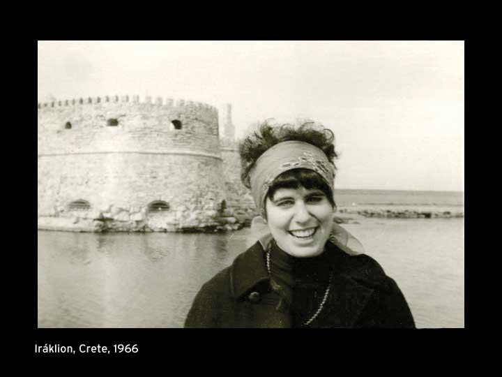 Andrea Dworkin 1 on Crete 1966L