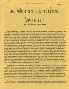 women identified woman small