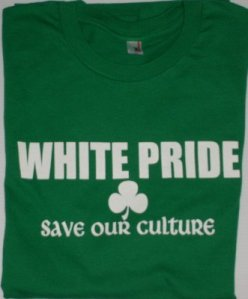 Ze bedoelen vast een ander soort witte trots!