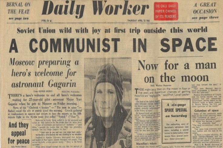 The Daily Worker - A Communist In Space